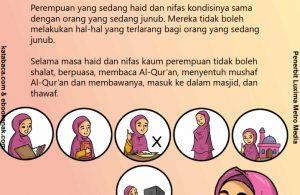 baca buku anak online, fikih islam jilid 3_062 Hal-Hal yang Diharamkan Saat Haid dan Nifas
