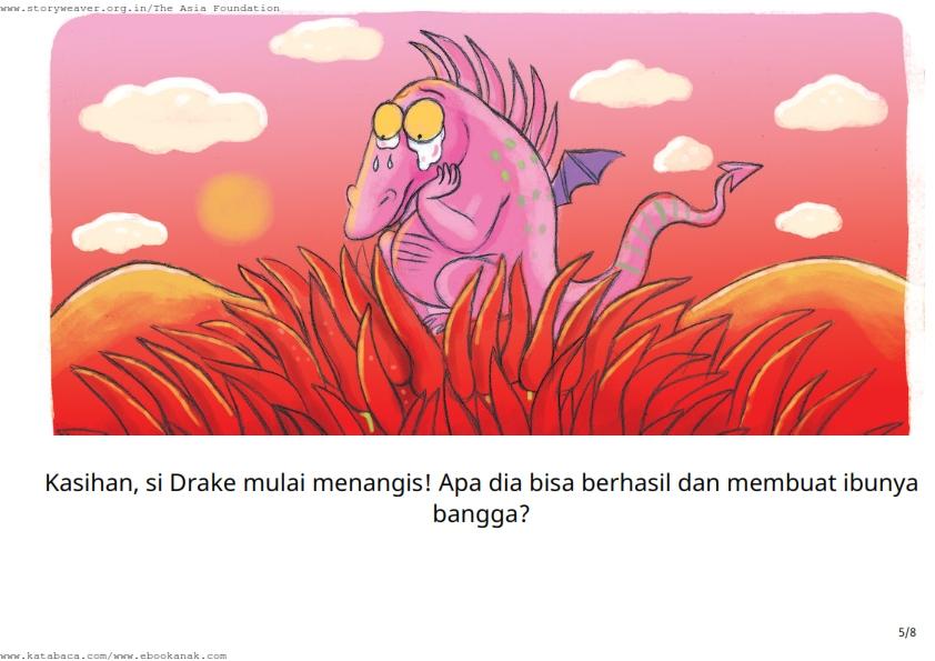 baca buku cerita online-drake si naga ajaib_005 Drake Si Naga Mulai Menangis
