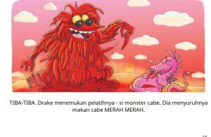 baca buku cerita online-drake si naga ajaib_006 Drake Si Naga Makan Cabe Merah