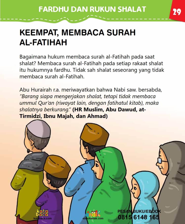 Hukum Membaca Surah Al Fatihah Saat Shalat