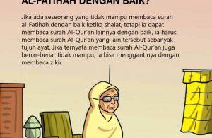 Hukum Orang yang Tidak Bisa Membaca Al Fatihah dengan Baik