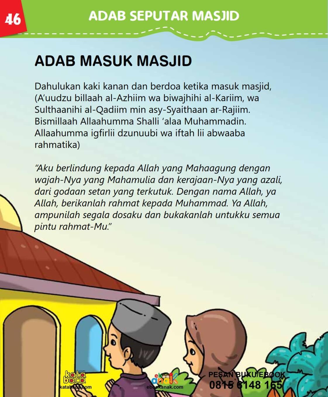 Adab Nabi Saw Ketika Masuk ke Masjid