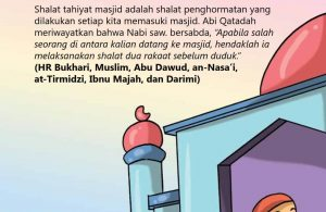 Jangan Duduk Sebelum Shalat Tahiyatul Masjid