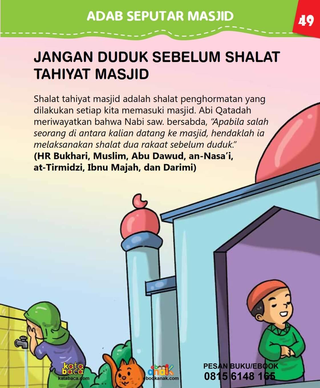Shalat Tahiyatul Masjid Dilakukan Apabila