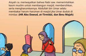 Cara Nabi Saw Merawat Masjid