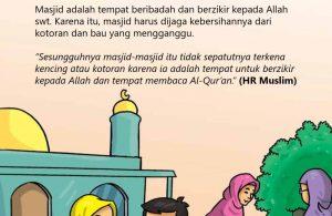 Cara Nabi Menjaga Kebersihan Masjid