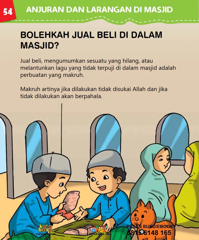 Hukum Jual Beli di dalam Masjid