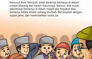 Hukum Bertanya di dalam Masjid