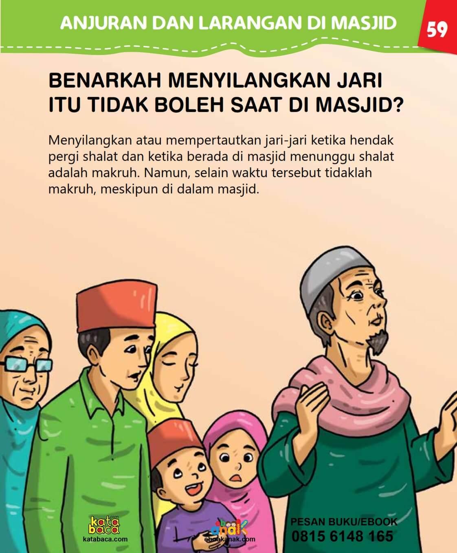 Hukum Menyilangkan Jari Tangan di Masjid