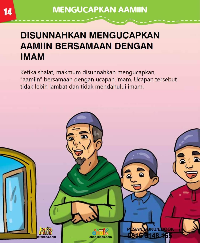 Disunahkan Membaca Amin Bersamaan dengan Imam