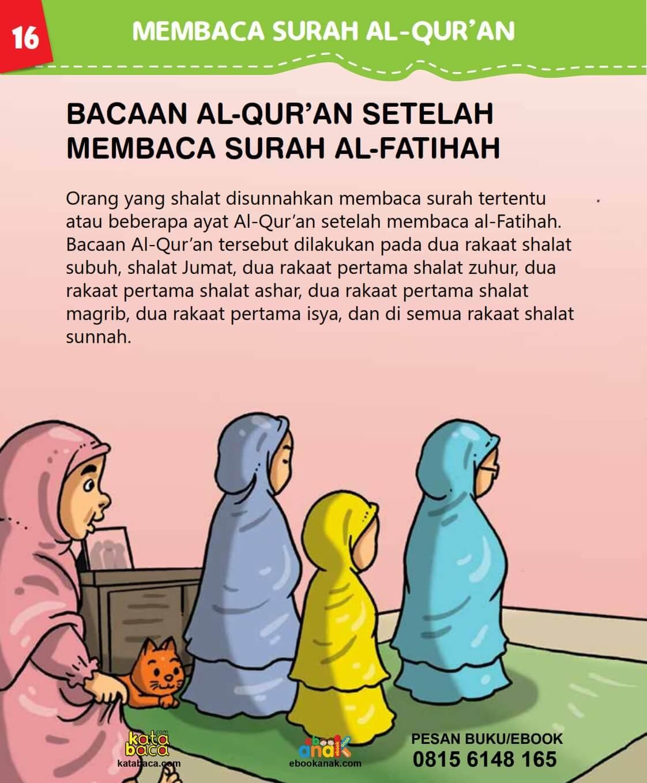 Bacaan Al Quran Setelah Membaca Al Fatihah