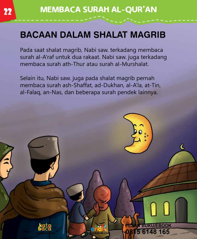 Bacaan dalam Shalat Maghrib