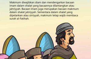 Membaca Al Quran di Belakang Imam
