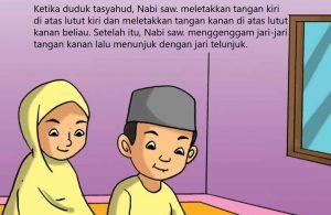 Cara Duduk Tasyahud Menurut Riwayat Ibnu Umar
