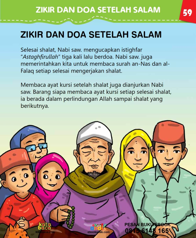 Zikir dan Doa Setelah Salam