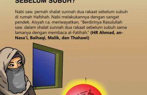 Bagaimana Cara Nabi Saw Memendekkan Shalat Sunnah Sebelum Subuh?