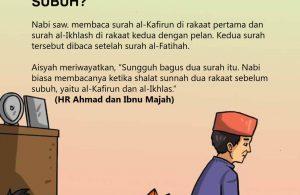 Surah yang Dibaca dalam Shalat Sunnah Sebelum Subuh