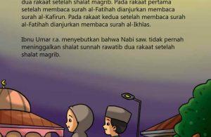 Shalat Sunnah Rawatib Maghrib