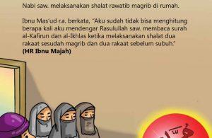 Anjuran dalam Shalat Sunnah Rawatib Maghrib
