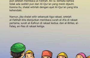 Bacaan Shalat Witir