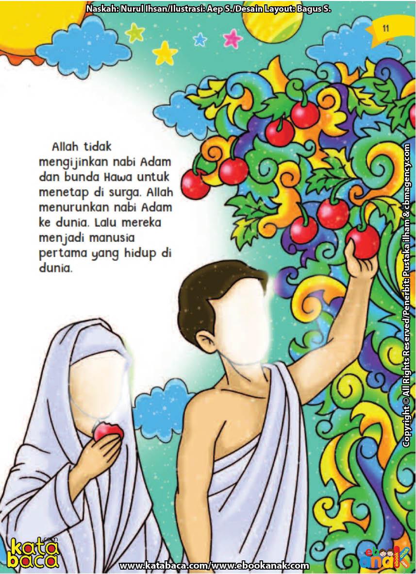 Kisah Cinta Nabi Adam Dan Siti Hawa