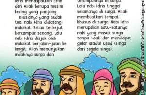 baca buku online aku cinta rasul kisah teladan 25 nabi dan rasul jilid 115 Siapa Nama Nabi yang Masuk Surga Tanpa Dihisab