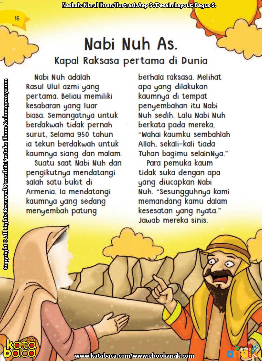 baca buku online aku cinta rasul kisah teladan 25 nabi dan rasul jilid 116 Siapa Nama Nabi yang Gigih Berdakwah Siang Malam Selama Ratusan Tahun