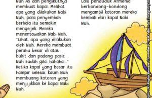 baca buku online aku cinta rasul kisah teladan 25 nabi dan rasul jilid 119 Mukjizat Terjadi Saat Orang-Orang Membuang Kotoran ke Perahu Nabi Nuh