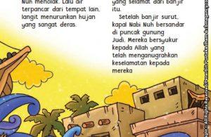 baca buku online aku cinta rasul kisah teladan 25 nabi dan rasul jilid 121 Di Gunung Manakah Perahu Nabi Nuh Bersandar Setelah Banjir Surut
