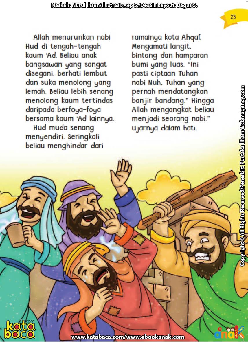 baca buku online aku cinta rasul kisah teladan 25 nabi dan rasul jilid 123 Siapakah Nama Nabi yang Senang Menyendiri dan Berhati Lembut