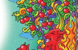 Iblis Memberitahu Adam Pohon Buah yang akan Membuat Kekal di Surga