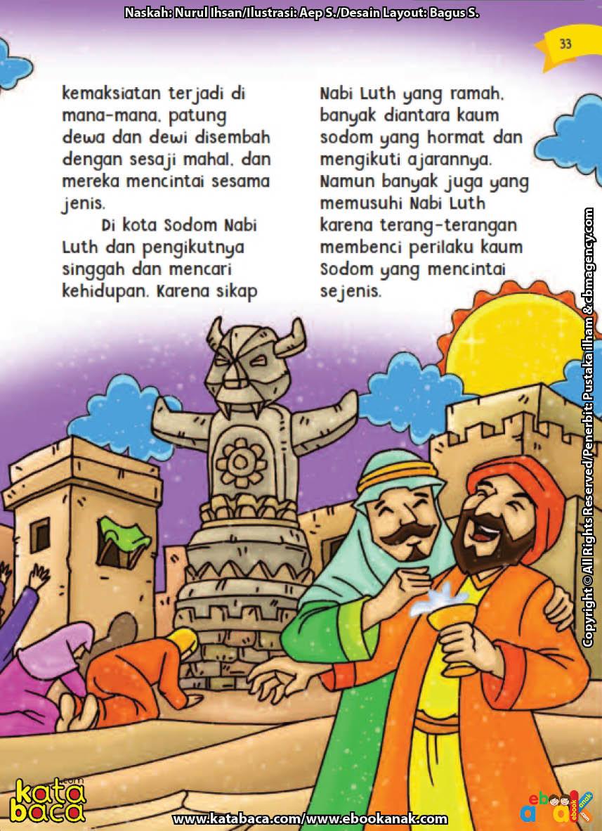 baca buku online aku cinta rasul kisah teladan 25 nabi dan rasul jilid 212 Inilah Alasan Kaum Sodom Pencinta Sesama Jenis Menolak Dakwah Nabi Luth