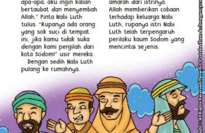 baca buku online aku cinta rasul kisah teladan 25 nabi dan rasul jilid 214 Kenapa Nabi Luth Dimarahi Istrinya