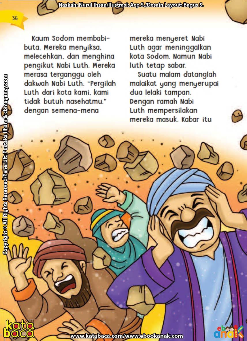 baca buku online aku cinta rasul kisah teladan 25 nabi dan rasul jilid 215 Apa Maksud Kedatangan Dua Malaikat kepada Nabi Luth