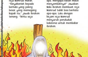 baca buku online aku cinta rasul kisah teladan 25 nabi dan rasul jilid 219 Inilah Jawaban Cerdas Nabi Ibrahim Saat Ditanya Raja Namrud