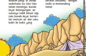 baca buku online aku cinta rasul kisah teladan 25 nabi dan rasul jilid 222 Saat Nabi Ismail Menangis Kehausan, Apa yang Bunda Hajar Lakukan