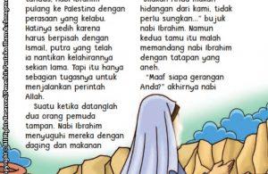 baca buku online aku cinta rasul kisah teladan 25 nabi dan rasul jilid 227 Dua Tamu Nabi Ibrahim yang Menolak Makan dan Minum