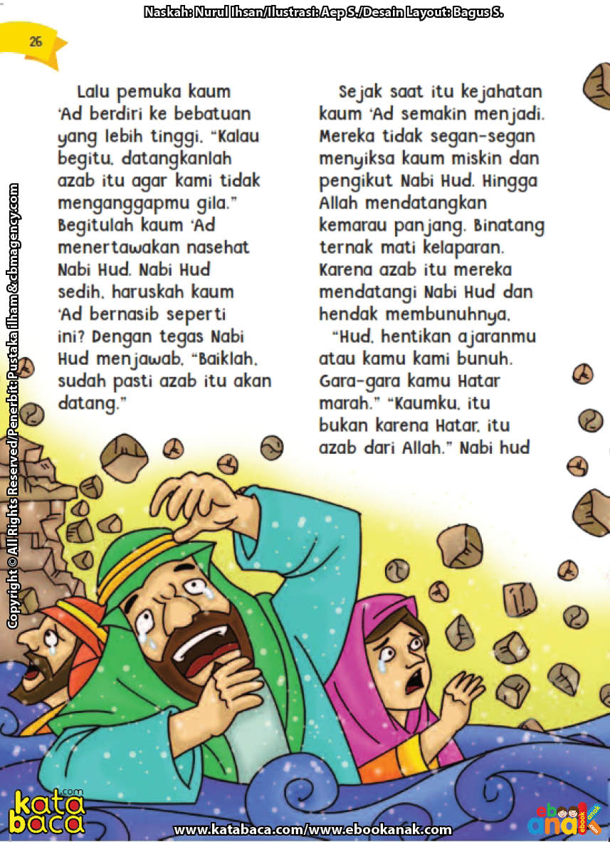 baca buku online aku cinta rasul kisah teladan 25 nabi dan rasul jilid 25 Bagaimana Cara Allah Membinasakan Kaum 'Ad yang Sombong