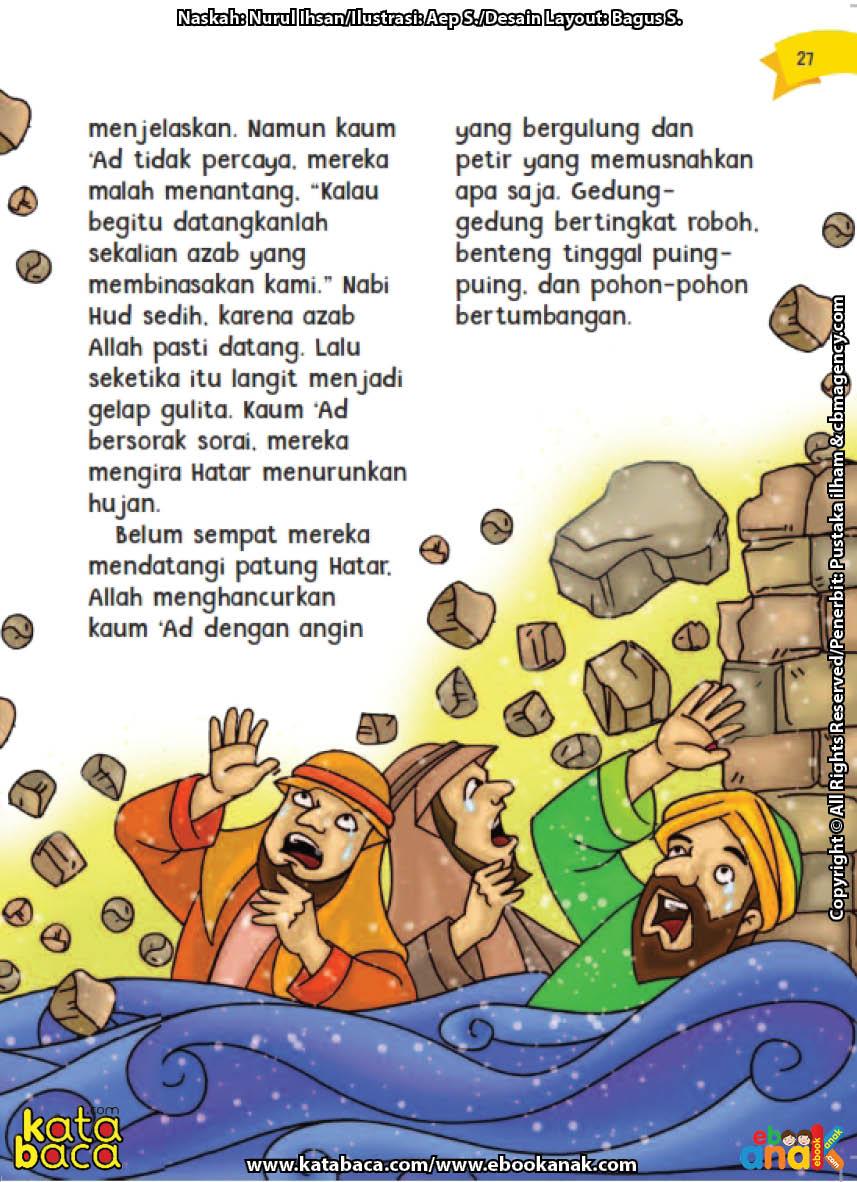 baca buku online aku cinta rasul kisah teladan 25 nabi dan rasul jilid 26 Inilah Azab yang Allah Turunkan kepada Kaum 'Ad