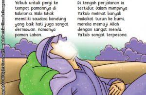 baca buku online aku cinta rasul kisah teladan 25 nabi dan rasul jilid 3 Nabi Yakub Pernah Bermimpi Melihat Banyak Malaikat Turun ke Bumi