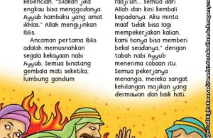 baca buku online aku cinta rasul kisah teladan 25 nabi dan rasul jilid 312 Iblis Menghadap Allah Ingin Menguji Nabi Ayyub