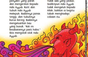 baca buku online aku cinta rasul kisah teladan 25 nabi dan rasul jilid 314 Ketika Iblis Meniupkan Penyakit Parah Kepada Nabi Ayyub