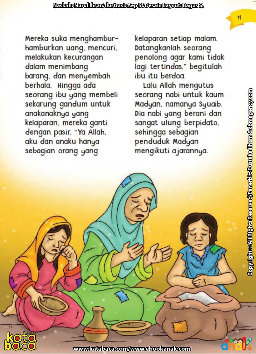 baca buku online aku cinta rasul kisah teladan 25 nabi dan rasul jilid 318 Apa yang Dilihat Nabi Syuaib Ketika Mendatangi Pasar Kaum Madyan