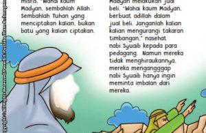 baca buku online aku cinta rasul kisah teladan 25 nabi dan rasul jilid 319 Apa Ancaman Kaum Madyan Kepada Nabi Syuaib