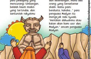 baca buku online aku cinta rasul kisah teladan 25 nabi dan rasul jilid 320 Apa yang Disedihkan Nabi Syuaib atas Sikap Kaum Madyan kepada Pengikutnya