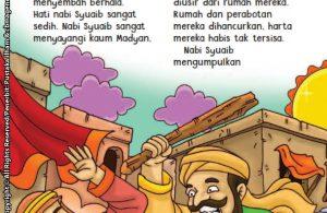 baca buku online aku cinta rasul kisah teladan 25 nabi dan rasul jilid 321 Kenapa Kulit Kaum Madyan Memerah dan Tenggorokan Mengering