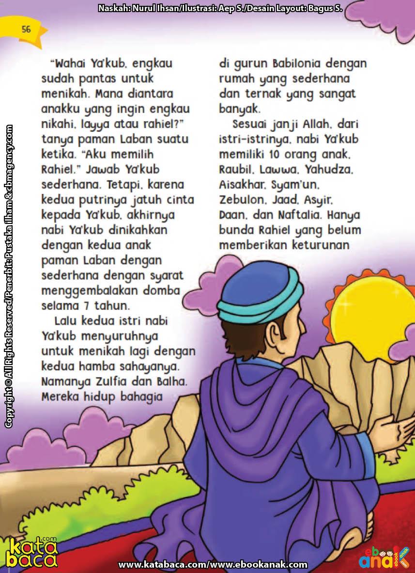 baca buku online aku cinta rasul kisah teladan 25 nabi dan rasul jilid 33 Siapa Nama Wanita Hamba Sahaya yang Dinikahi Nabi Yakub