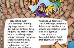 baca buku online aku cinta rasul kisah teladan 25 nabi dan rasul jilid 35 Kenapa Nabi Yakub Melarang Nabi Yusuf Menceritakan Mimpinya