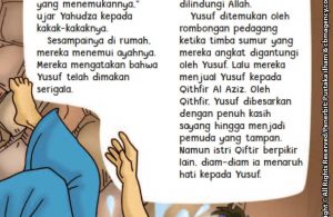 baca buku online aku cinta rasul kisah teladan 25 nabi dan rasul jilid 36 Kesepuluh Kakak Nabi Yusuf Mengajak Nabi Yusuf Lomba Lari