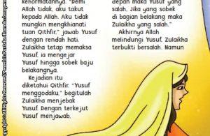 baca buku online aku cinta rasul kisah teladan 25 nabi dan rasul jilid 37 Inilah Keteguhan Nabi Yusuf Saat Zulaikha Menggodanya